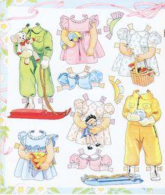 Paper Dolls~BADGETT BABIES - Bonnie Jones - Picasa Web Albums