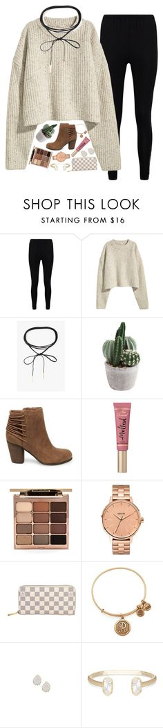 """""""pain makes you stronger, tears make you stronger, and heartbreak makes you wiser, so thank the past for a better future."""" by ellaswiftie13 on Polyvore featuring Boohoo, Azalea, Steve Madden, Too Faced Cosmetics, Stila, Nixon, Louis Vuitton, Alex and Ani and Kendra Scott"""