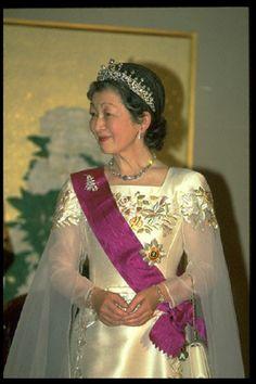 Empress Michiko of Japan in 1996