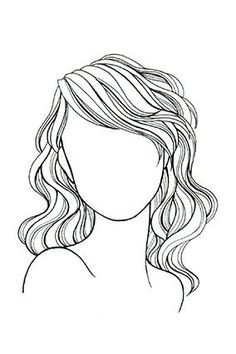 Wavy or Curly Hair, Round Face: Length can be midneck to midback, but always get long layers to counteract a pyramid effect; a deep side part emphasizes bone structure.
