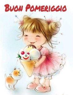 Buon Pomeriggio Immagini Belle Gratis - ImmaginiBuongiorno.biz Good Afternoon, Good Morning, Italian Memes, Dinosaur Birthday, Vintage Easter, Birthday Wishes, Eye Candy, Anime, Eyes