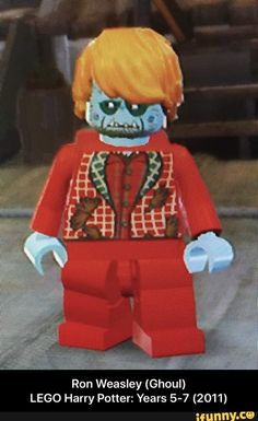 Ron Weasley (Ghoul)                                                                     LEGO Harry Potter: Years 5-7 (2011)  – popular memes on the site iFunny.co #harrypotter #movies #legogames #legoharrypotter #ronweasley #ron #weasley #lego #harry #years #meme