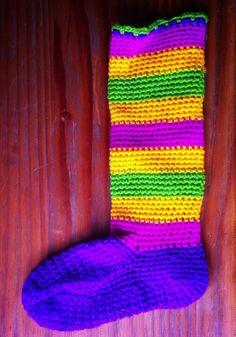 Botitas a crochet para mi hija.