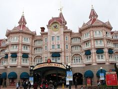 Disneyland Hotel in Paris. The most expensive, but also the best. Don't want to stay anywhere else when we go!