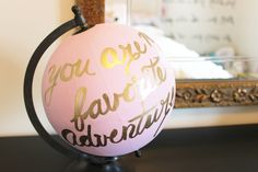 Turn old globes into