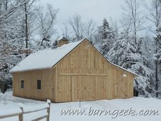 These 30x40 Gable Barn Plans are great for the small horse farm or homestead, this traditional barn plan has a great deal of storage space…