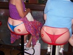 Check out these hilarious bar stools!