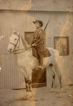 Mounted Schutztruppe, German South West Africa