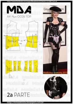 ModelistA: A4 - NUM 0026 TOP SEG PART quarta-feira, 11 de fevereiro de 2015 A4 - NUM 0026 TOP SEG PART The low breast corsets are more focused to the waistline. They will need to be used with a blouse or a dress underneath, and are less warm and easier to wear the braces on his chest.