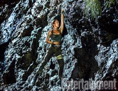 Alicia Vikander Seen In Action As Lara Croft In New Exclusive Photo From Tomb Raider Reboot Tomb Raider Lara Croft, New Lara Croft, New Tomb Raider Movie, Tomb Raider Film, Tomb Raider Novo, Tomb Raider 2018, Tomb Raider Alicia Vikander, Alicia Vikander Lara Croft, Entertainment Weekly