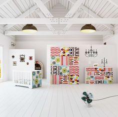Habitaciones infantiles completas de diseño estilo vintage para las princesas de la casa.   Vintage baby room. Vintage chambres de bébés #baby #bebe #kidsroom #vintage #nursery #kidsdecor