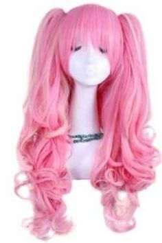 Really tempted by this cute, pink, anime inspired wig. http://www.squidoo.com/cute-pink-anime-wigs