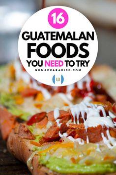 Guatemalan Food, Guatemalan Recipes, Culture Club, Pork Rinds, Ethnic Food, World Recipes, International Recipes, The Dish, Foodie Travel