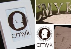 CMYK Stationery by Create my Kaleidoscope (cmyk)