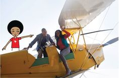 I'm at the Aviation museum in Germiston...there are so many planes. I got these people so good with this photobomb! #zibu #heritagemonth #southafrica http://tinyurl.com/lfzjdlf