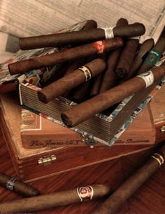Cigars (In Boxes) Mini Poster