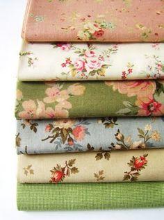 Shabby fabrics...