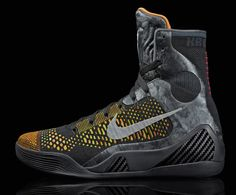Nike Kobe 9 Elite Influence Sport Turquoise Total Orange Volt Wh