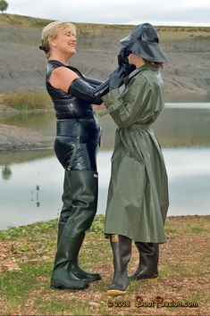 Ladies Wellies, Country Wear, Rubber Raincoats, Wellies Boots, Pvc Raincoat, Rain Gear, Weather Wear, Sexy Latex, Rubber Shoes