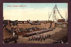 Postcard Vintage Interior Citadel Halifax N. Halifax Citadel, Nova Scotia, Paris Skyline, Canada, World, Interior, Travel, Ebay, Vintage