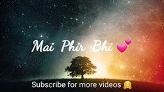 ● 30 Second Sad Love & Romantic Songs WhatsApp Status Videos. 💞 ● Comment your favourite songs name and I'll make WhatsApp Status Video for you. Sad Love, Love You, Best Video Song, Half Girlfriend, Romantic Status, Romantic Songs, Saddest Songs, Download Video, Forever Love