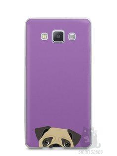 Capa Capinha Samsung A7 2015 Cachorro Pug - SmartCases - Acessórios para celulares e tablets :)