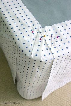 diy bedskirt flat sheet custom repurpose, bedroom ideas, diy, home decor, reupholster