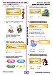 8.Sınıf TEOG İngilizce Testleri ve Alıştırmaları