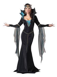 Evil Sorceress Adult Costume | Wholesale Witch Costumes for Women