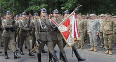 Image result for nato troops in baltic states Anaconda, Red Army, Troops, Military Flags, Image, Green Anaconda