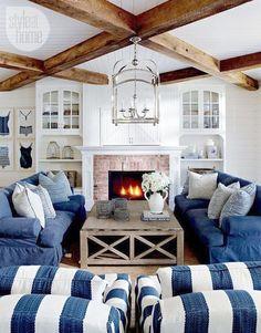 Coastal Cottage Living Room Furniture
