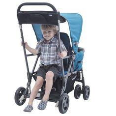 Amazon.com : Joovy Caboose Ultralight Graphite Stroller, Black : Baby http://amzn.to/2ssAuXo