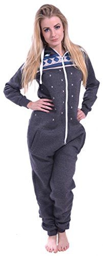 SkylineWears Women's Onesie Fashion Printed Playsuit Ladies Jumpsuit Medium Charcoal SkylineWears http://www.amazon.com/dp/B00PZG6BLG/ref=cm_sw_r_pi_dp_6YzPwb186PB3Z