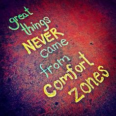 Comfort zone has the most comfortable bed in life,  where dreams become alive in your mind but never become a reality, UNLESS you get up from bed to make it happen.