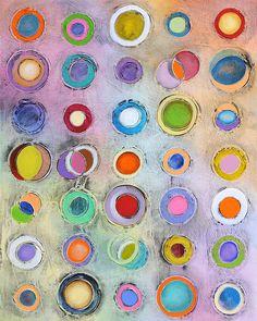 Abstrakte Kunst Malerei 24 x 30 Original von AbstractBrush auf Etsy