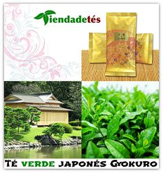 ¡¡Gyokuro es el mejor té verde que uno puede comprar!! ¡¡Directamente desde Japón y envasado en papel de arroz y seda lo tienes ya disponible en www.tiendadetes.com!! #Té #TéVerde #TéVerdeJaponés #Gyokuro #TéGyokuro