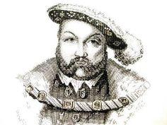 RSN ( Royal School of  Needlework) Future Tutor Kate Barlow's Blackwork, Henry VIII. Stunning stitches .  And love Henry in Blackwork..