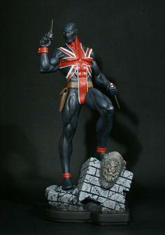 Bowen Marvel Union Jack Statue