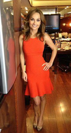 Dress: Issa Shoes: Sergio Rossi Jewelry: Alexis Bittar and Pomellato