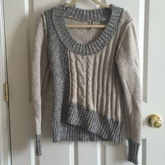BKE Sweater! Gently Used! Excellent condition Cable knit sweater in great condition BKE Sweaters Crew & Scoop Necks