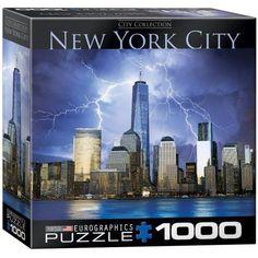 EuroGraphics New York World Trade Center 1000-Piece Puzzle, Multicolor