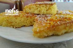 Portakallı Islak Kek (Hazır Alınmış Gibi) Tarifi