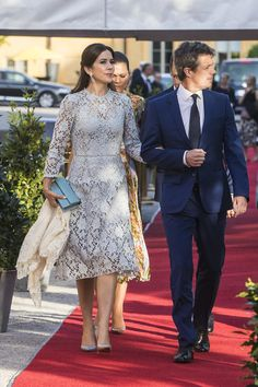Prince Mary of Denmark Photos Photos - Prince Mary of Denmark and Prince Frederik of Denmark attend an official dinner at Eric Ericssonhallen on May 29, 2017 in Stockholm, Sweden. - Danish Royals Visit Sweden - Day 1