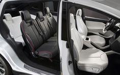 Tesla Model X - interior