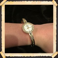 Precision brand gold watch Precision gold watch. **needs battery** Accessories Watches