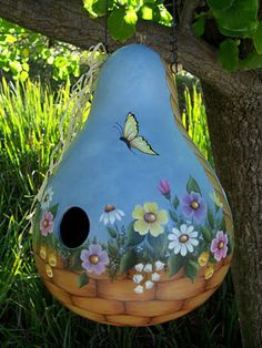 Archivo de álbumes - VARIEDAD SACADA DE LA WEB Summer Crafts, Fun Crafts, Diy And Crafts, Arts And Crafts, Decorative Gourds, Hand Painted Gourds, How To Dry Gourds, Wood Block Crafts, Farm Paintings