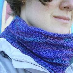I confess—the first version of this design (the purple one) was inspired almost entirely by my plan of wrapping myself in the yarn, without breaking the bank.  Since it's pricy, a full-size scarf was out, but a cowl seemed doable.  Short rows break up any pooling (an issue if you pick a more multi-colored colorway),...Read More »