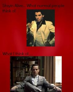 #Sherlock #Moriarty #Stayin Alive    Who else does this? Is it just me?