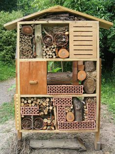 fabriquer un h tel insectes insectes les plantes et milieu. Black Bedroom Furniture Sets. Home Design Ideas