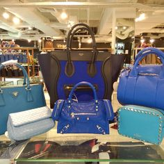 Are you a fan of BLUE? Get 'em now from #TheGreatReebonzSale at up to 70% off and additional 5-7% off with Citibank Cards. See you at Reebonz SPACE, Clifford Centre #07-07! 12 Jun (12-8pm) & 13 Jun (11-6pm). More info at <go.reebonz.com/grs2>. xxBecs  #ReebonzSG #ReebonzSPACE #OfflineSale #GreatSingaporeSale #GSS #Celine #BottegaVeneta #Balenciaga #Valentino #Prada #Blue